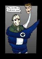 Mr. Voorhees meet Mr. Richards by Lordwormm