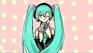 IScribble Miku by losertastic124