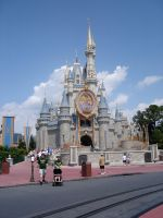 Cinderella Castle Front 3 by WDWParksGal-Stock