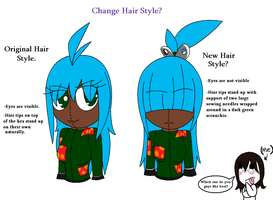 Dollwoman Hair Change? by shadowgem68