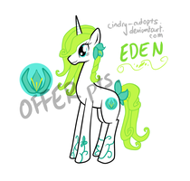 MLP - Adoptable EDEN [CLOSED] by CindryTuna