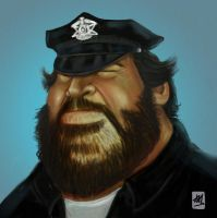 Bud Spencer by andreyrmon
