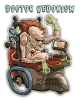 DOCTOR HEDONISM by pop-monkey