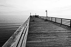 Fishing pier by clippercarrillo
