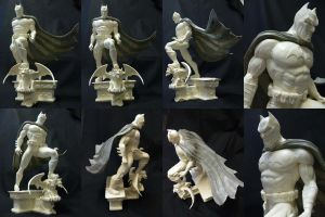 Batman resin statue. by Leebea