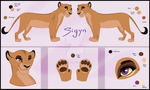 Sigyn Reference - Gift by IsharaHeart