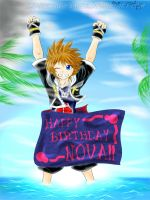 to Nova from one of her fans :3 Happy Birthday by Midorikawa-eMe111