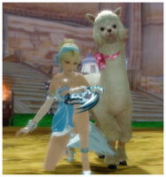 Aion: I HAZ A LAMA by rainbowmidnight