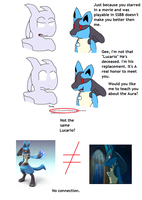 Lucario fanboys gonna hate me by LukeTheeMewtwo