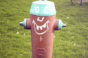 The Fire Hydrant With The Face Tattoo~ by 8i-Emmz-i8