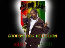 Good bye dogg Hello Lion by RWhitney75