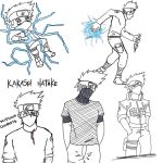 Sketch series- Kakashi by synyster-gates-A7X