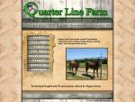 Quarter Line Farm website by ElvenRavenWolf