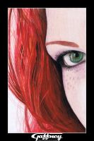 Colored Pencil Redhead 2 by theGaffney