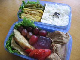 Bento for Kiyo by sake-bento