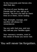 Always Remember, Never Forget. by CelticDragonQueen