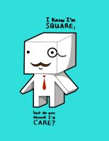 DARE to be SQUARE by skcolb