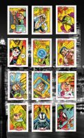 Spidey cards 2 by Sonion