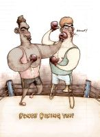 Punch Boxing Yay. by Schlammer