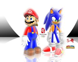 Mario and Sonic at the Olympic by Sigacomer