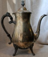 Silver Teapot 05 - Stock by Thy-Darkest-Hour