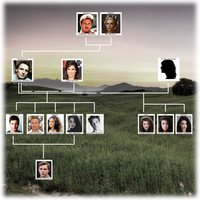 Feathermoon Family Tree - BASIC by GrizzlyHowl