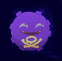 Koffing by CaptainFish