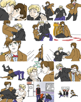 Doctor Who: Kiss And  Spit Meme by LuffYu