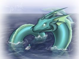 Dragons A-Z : Leviathan by WittNV
