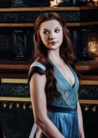 FROM HOUSE TYRELL - MARGAERY TYRELL by sezengurakar