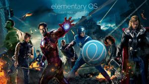 Avengers wallpaper for elementary OS by 13iangel