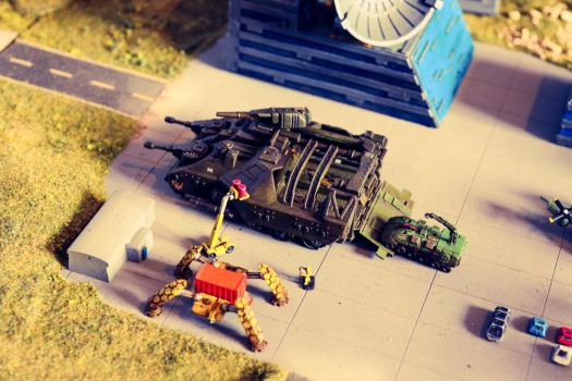 Mobile Field- and Repairbase - Landcarrier by Vortex013