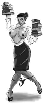 Ms. Claire Currie, Librarian by ShonRichards