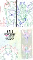 [Sketch Dumb] New OC: Fait by Nadi-Chan