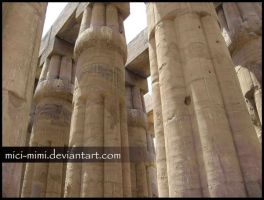 Luxor Temple by mici-mimi