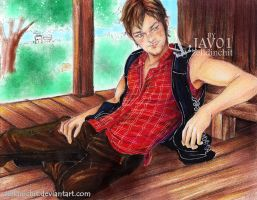 Daryl D. TWD season2 - time to rest by zelldinchit
