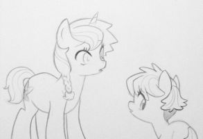 Unintentional Meeting by kilala97