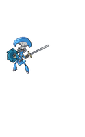 A sprite I made for a series on youtube by UmbraDragonX