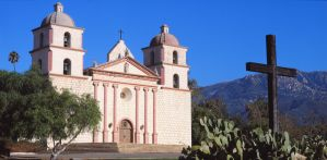 Santa Barbara Mission by OrioNebula