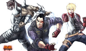 Tekken team work by Frost7