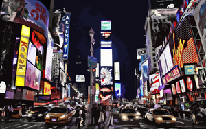 New York Times Square by sylie113