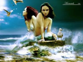 Mermaids by aselclub