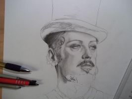 Boy George WIP by Angua33