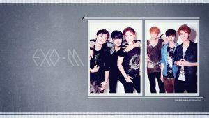 WALLPAPER EXO-M by somebodyinmyheart