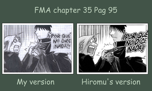 FMA chapter 35 pag 95 draw by NaruMikuLink99