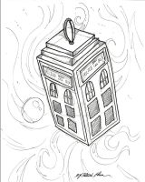 Dr.who art_ink by PatrickOlsen