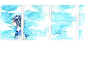 The sky of the window by aloespica109