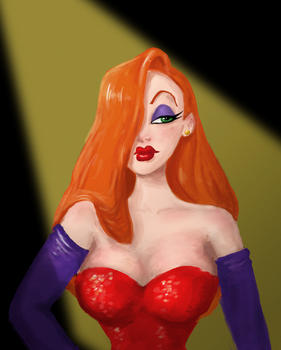 Jessica Rabbit by TheSpaceBabe