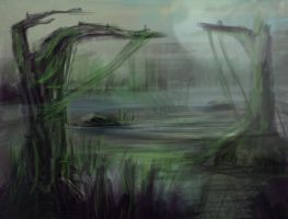 swamp by Ahinora
