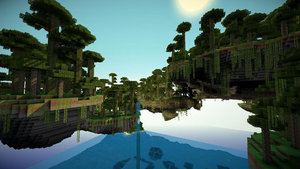 Minecraft Skylands by maxiesnax
